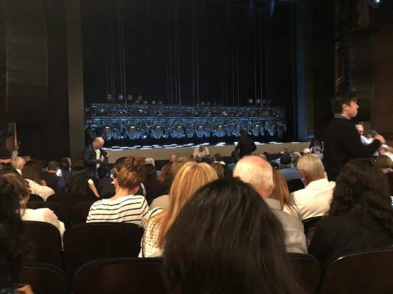 Lunt-Fontanne Theatre, section: Orchestra, row: O, seat: 11