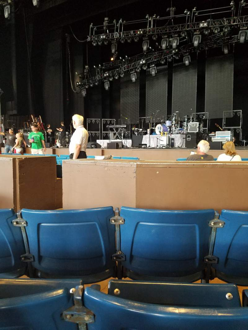 Seating view for The Mann Section Prime 300 Row D Seat 303