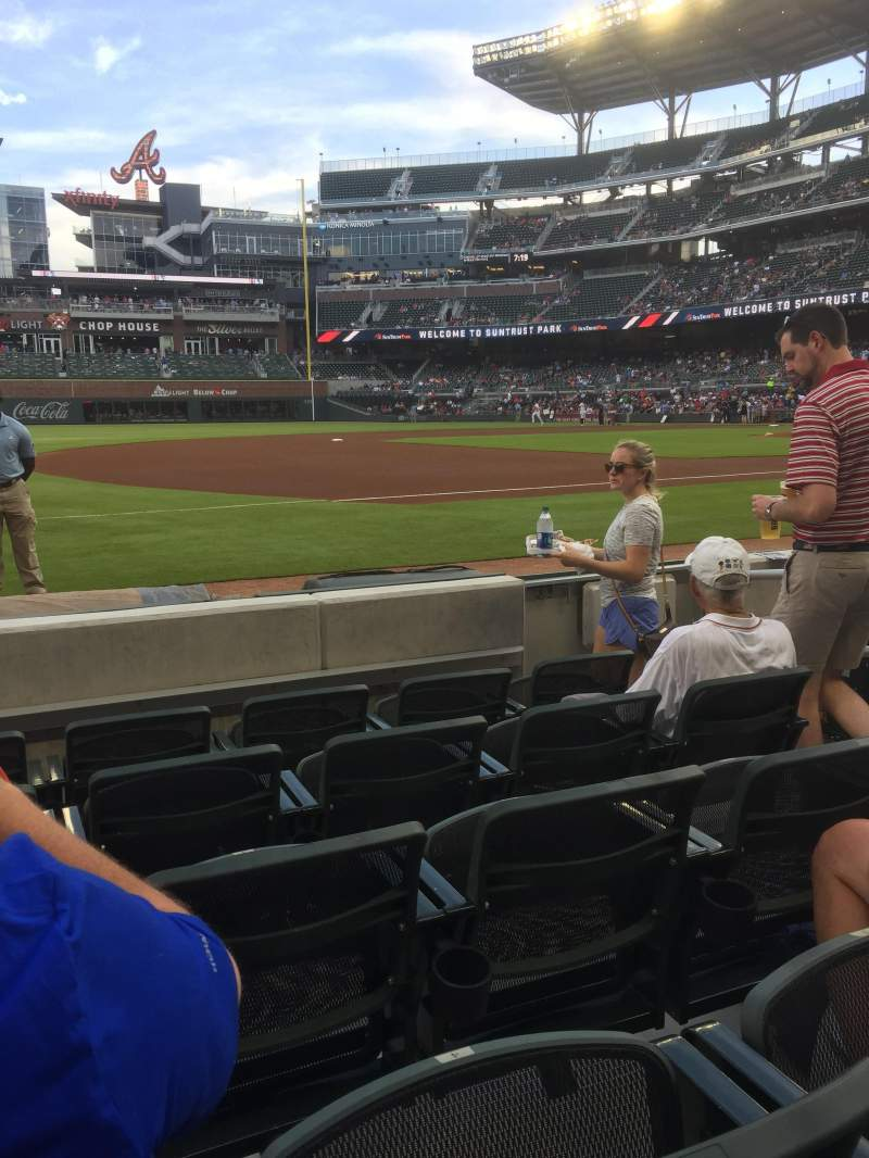 SunTrust Park, section: 36, row: 5, seat: 5