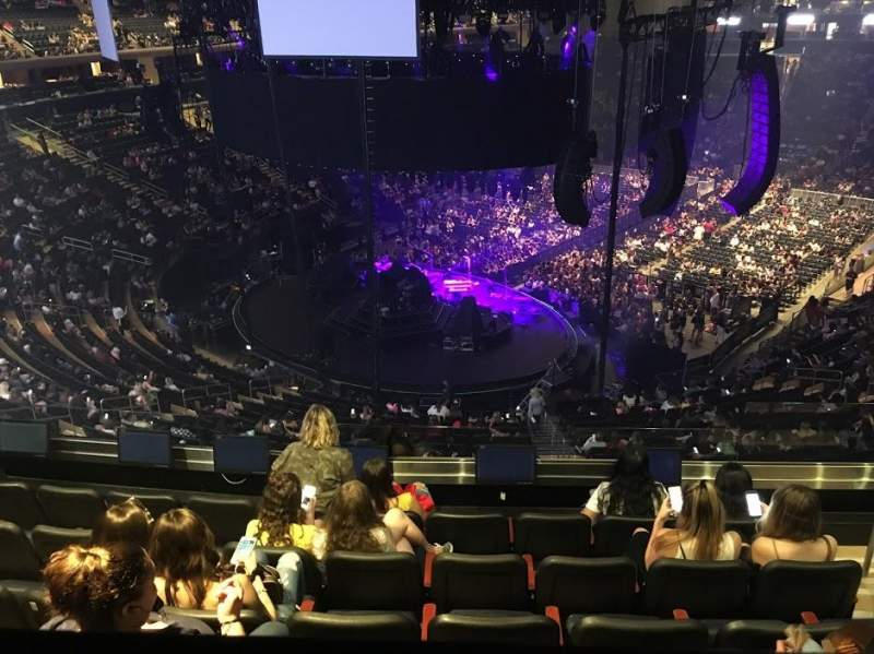 Seating view for Madison Square Garden Section 219 Row BS6 Seat 18