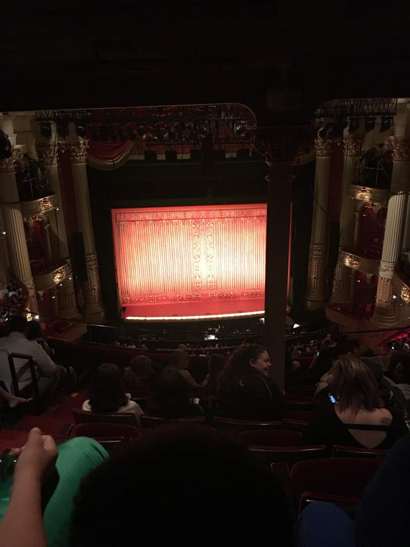 Academy of Music, section: E, row: H, seat: 114