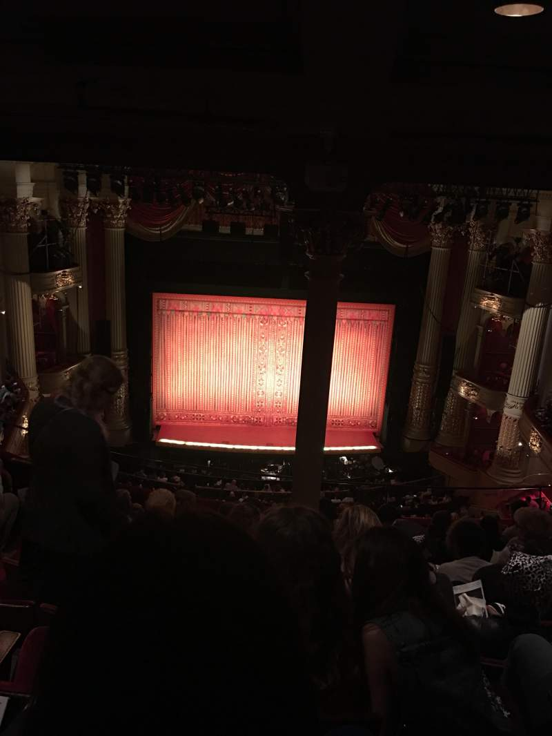 Academy of Music, section: E, row: H, seat: 113