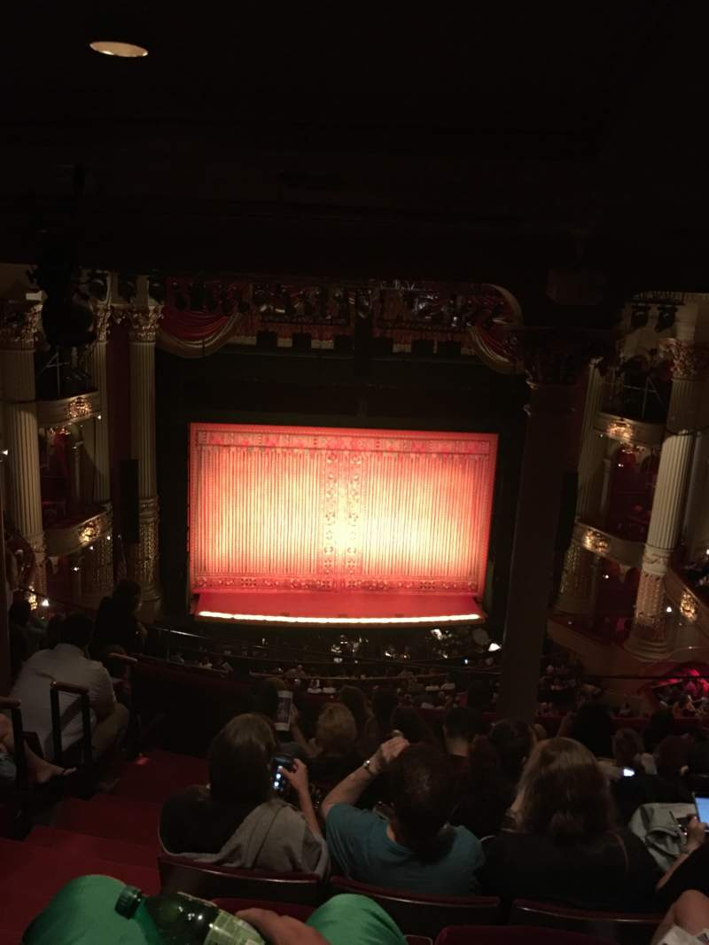 Academy of Music, section: E, row: H , seat: 115