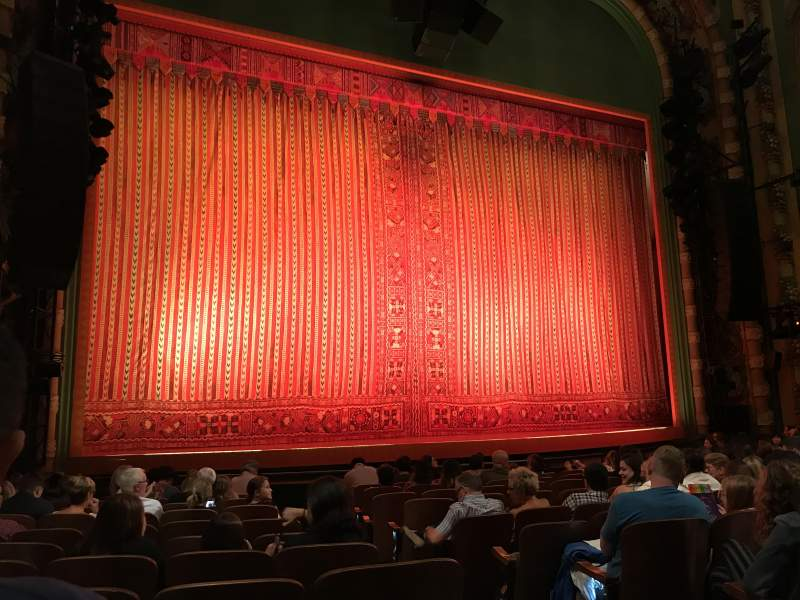 Seating view for New Amsterdam Theatre Section Orchestra L Row L Seat 5