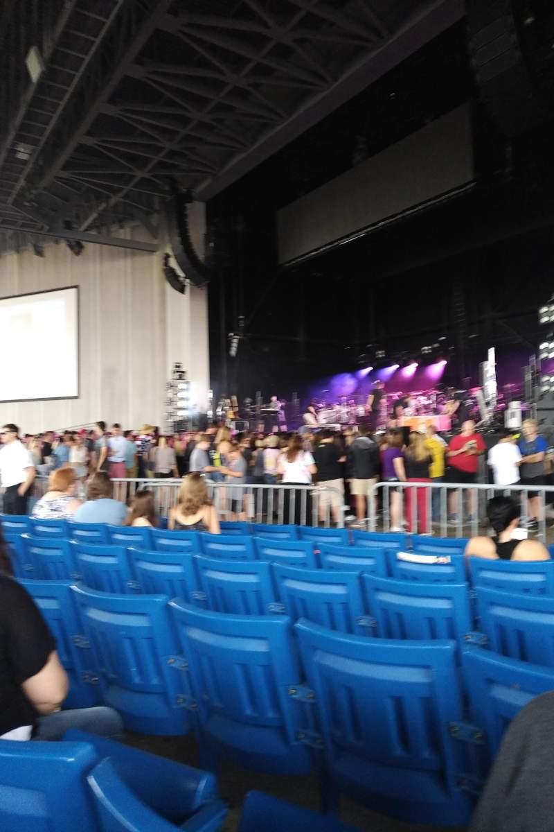 PNC Music Pavilion, section: 1, row: N, seat: 20