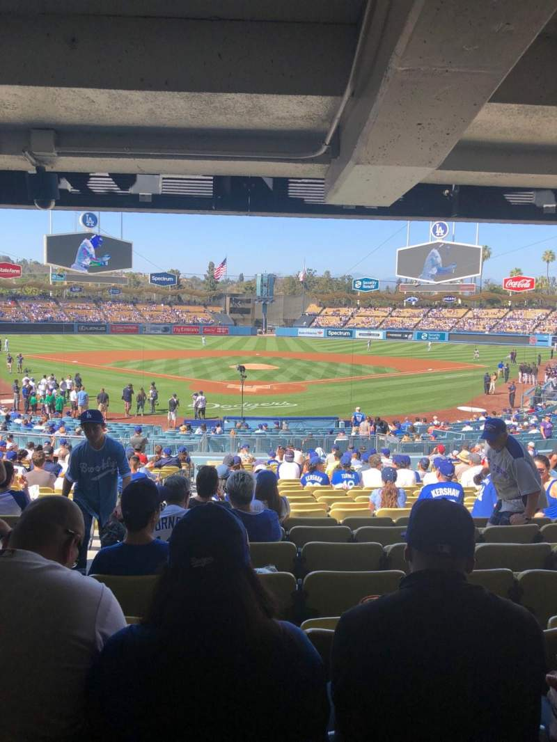 Dodger Stadium, section: 2FD, row: DR, seat: 2