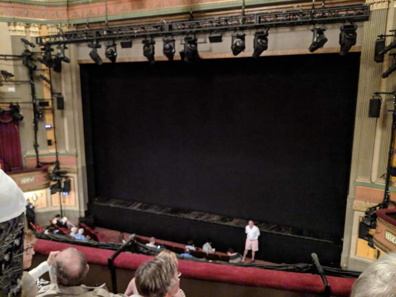 Seating view for Neil Simon Theatre Section Front Mezzanine C Row D Seat 125