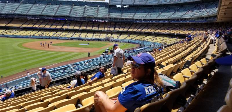 Dodger stadium, section: 159LG, row: K, seat: 12