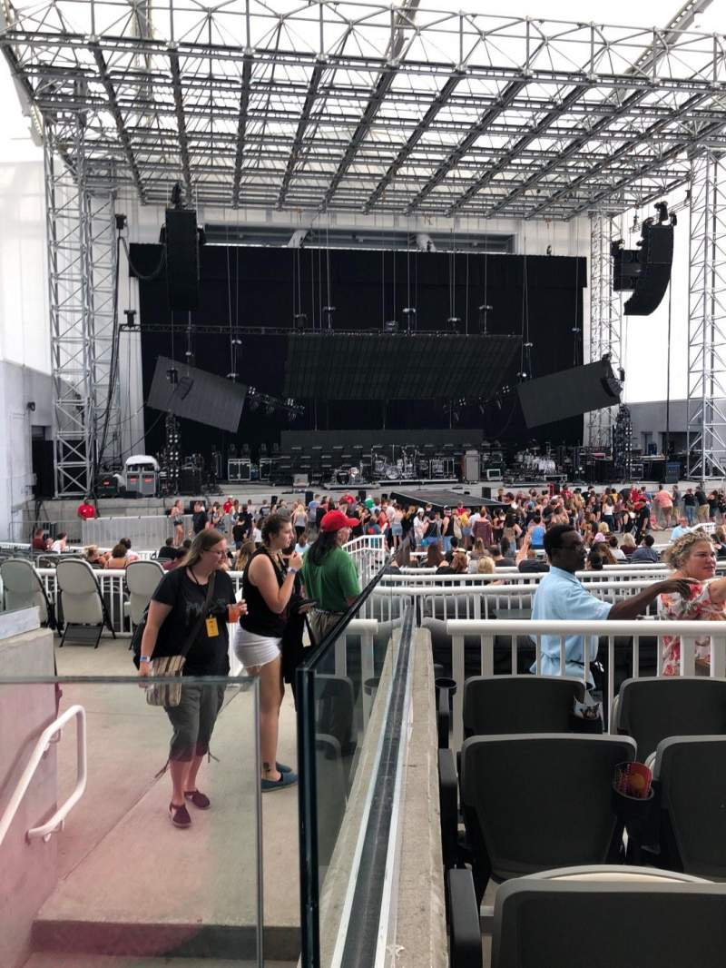 Daily's Place, section: 206, row: E, seat: 7