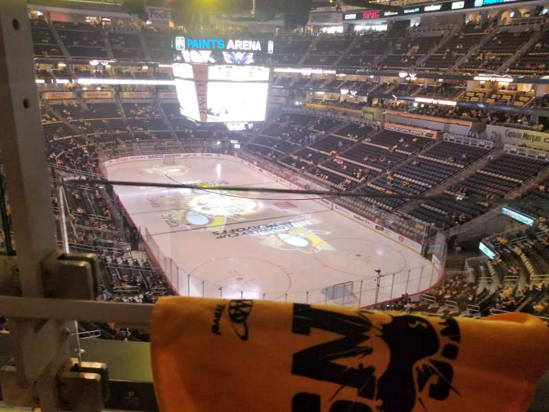 Seating view for PPG Paints Arena Section 230 Row a Seat 1
