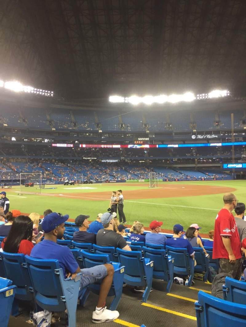 Rogers Centre, section: 113AR, row: 10, seat: 2