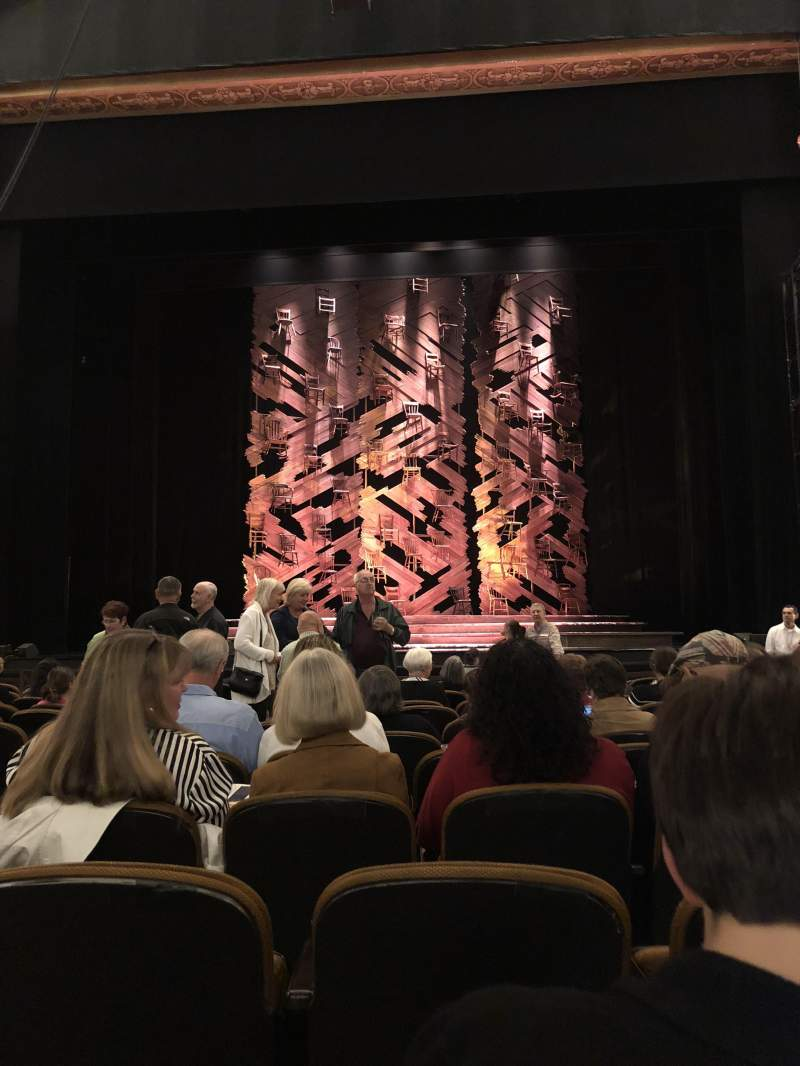 Seating view for Paramount Theatre (Seattle) Section MF2 Row M Seat 3