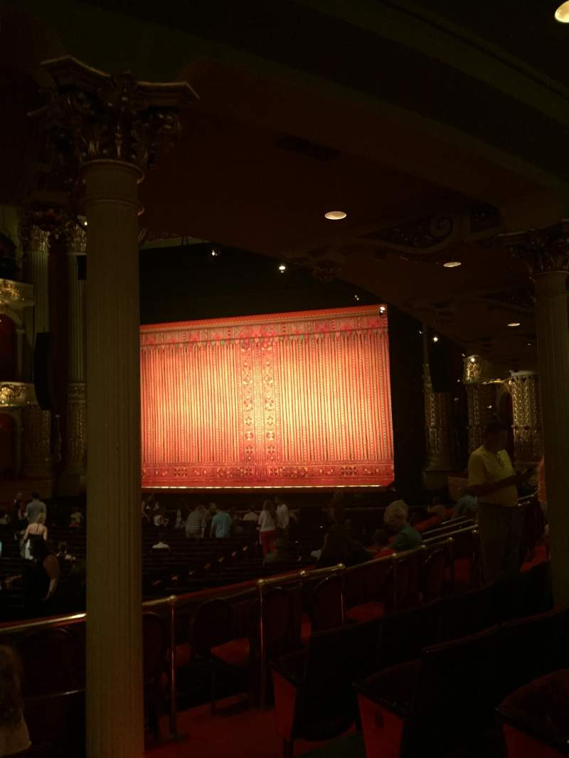 Academy of Music, section: Parquet circle B, row: X, seat: 14