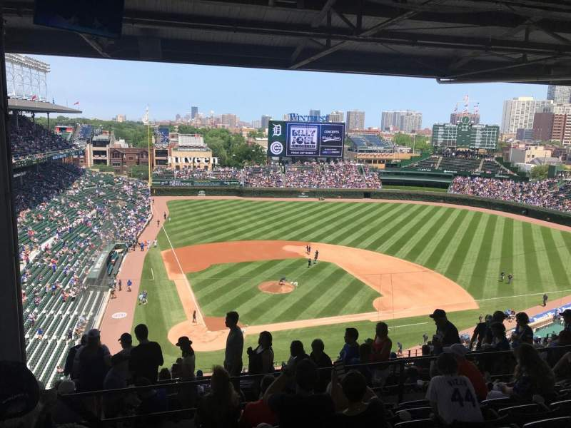 Seating view for Wrigley Field Section 524 Row 7 Seat 5
