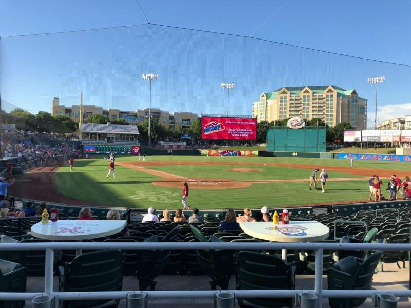 Seating view for Dr Pepper Ballpark Section 114 Row 15 Seat 6