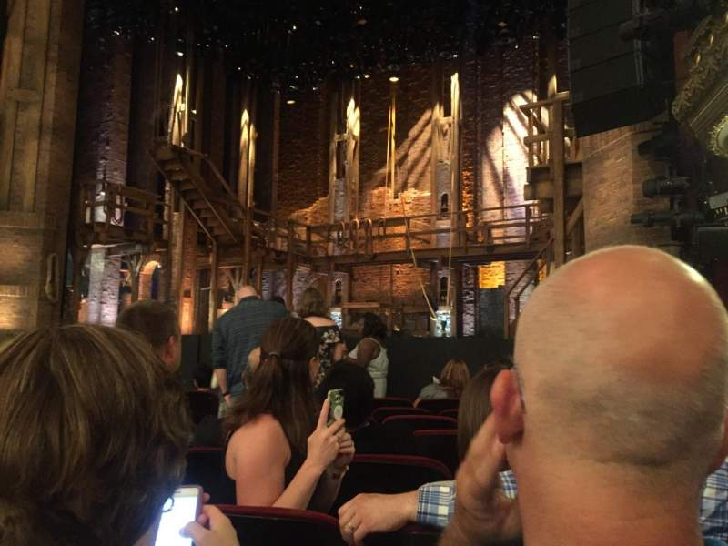 Seating view for CIBC Theatre Section Orchestra R Row J Seat 12