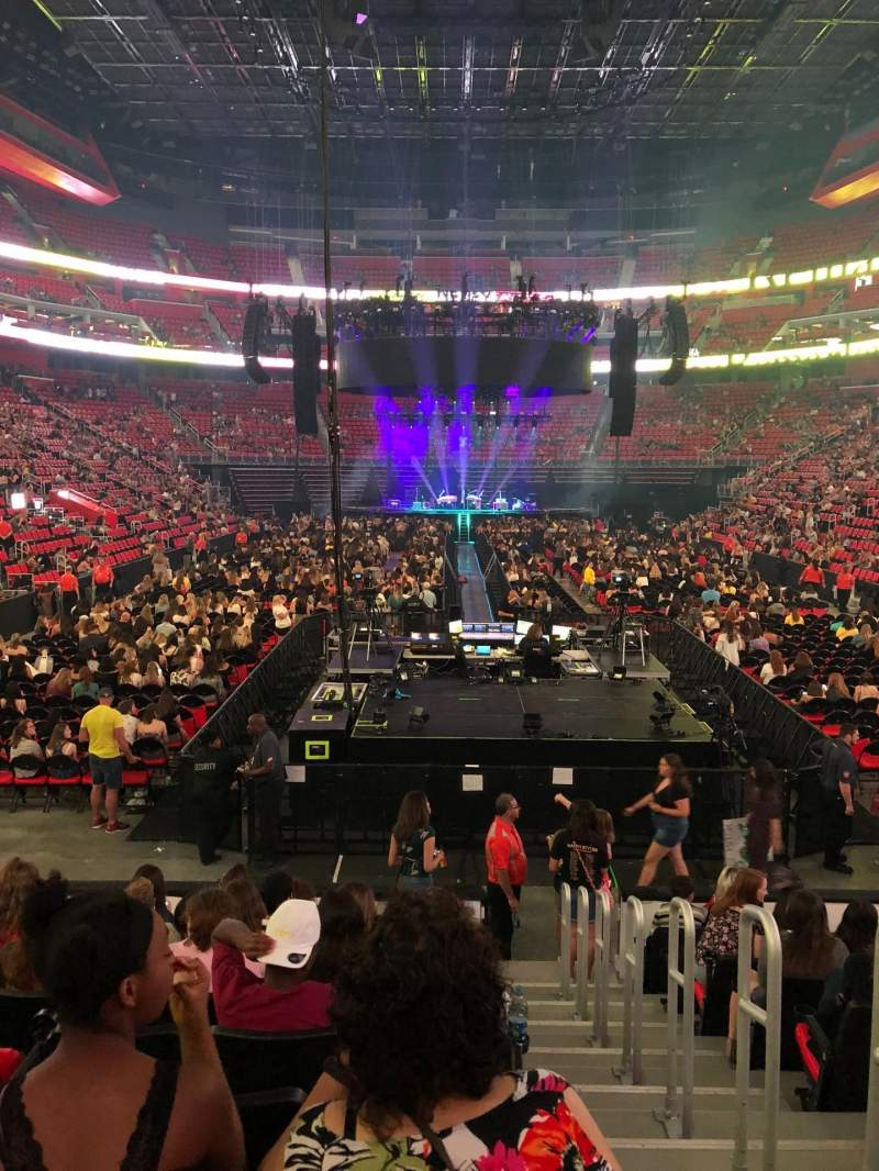Little Caesars Arena, section: 116, row: 10, seat: 1