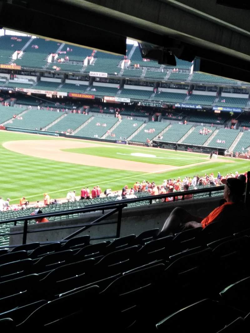 Seating view for Oriole Park at Camden Yards Section 71 Row 9 Seat 12
