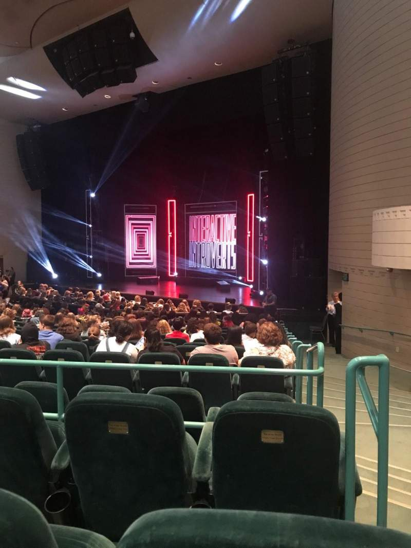 Seating view for Ruth Eckerd Hall Section 6 Row S Seat 1