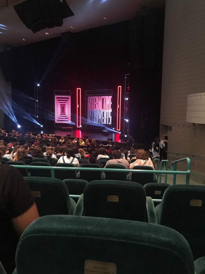 Seating view for Ruth Eckerd Hall Section 6 Row S Seat 2