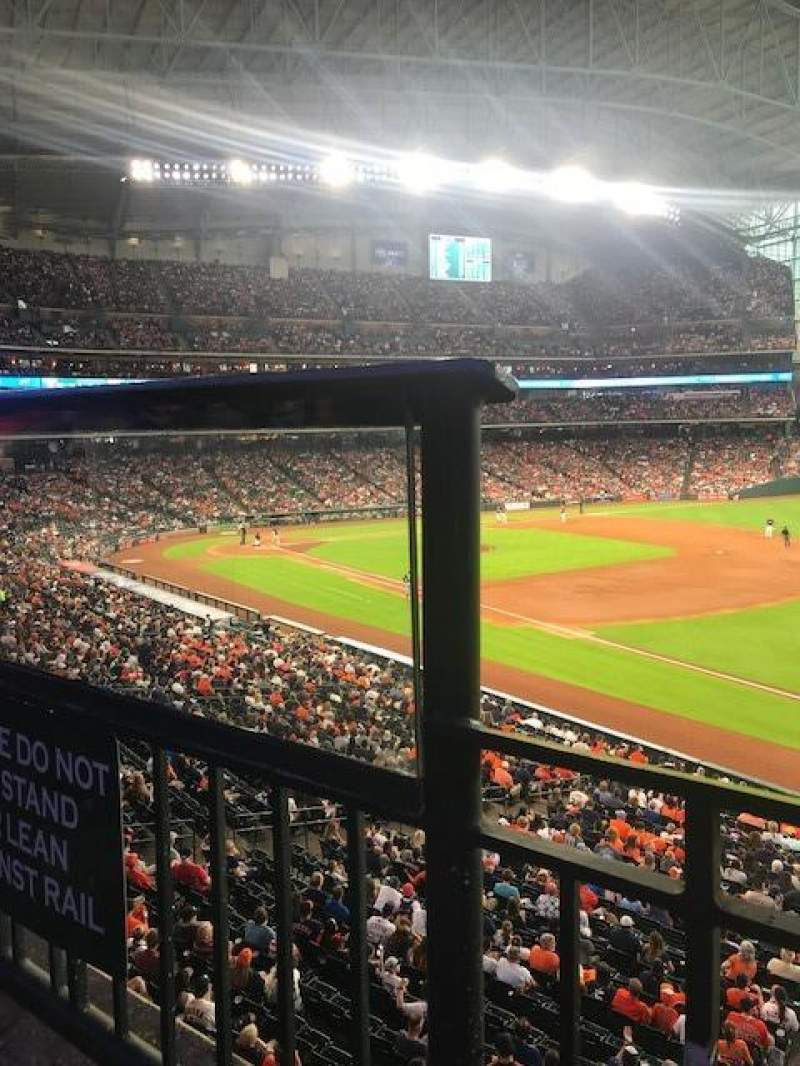 Minute Maid Park, section: 231, row: 1, seat: 1