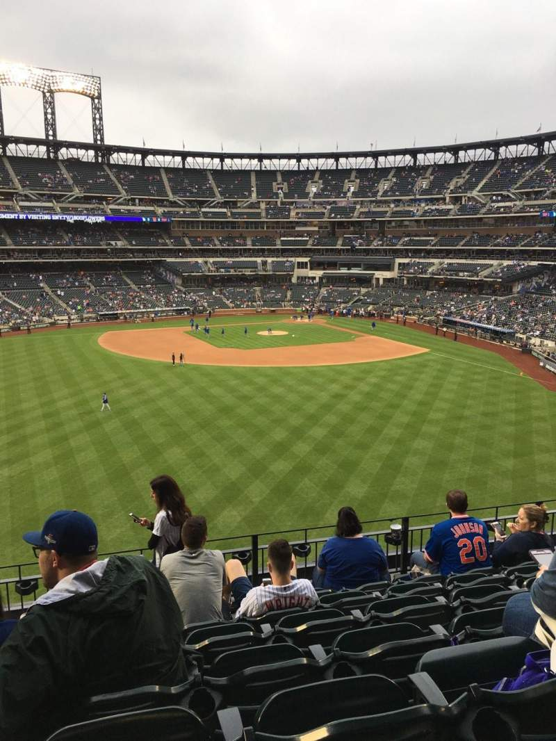 Seating view for Citi Field Section 337 Row 7 Seat 11