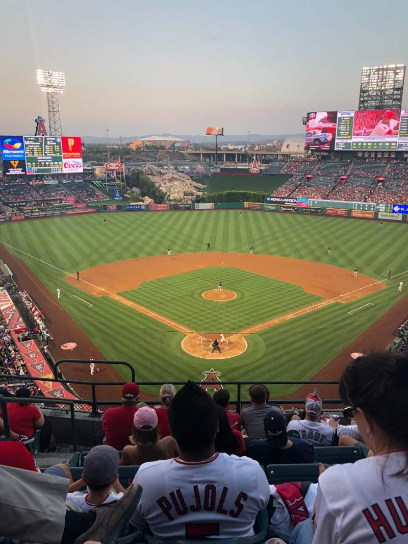 Angel Stadium, section: V419, row: G, seat: 3