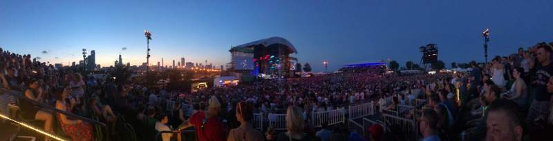Huntington Bank Pavilion at Northerly Island, section: 312, row: F, seat: 13