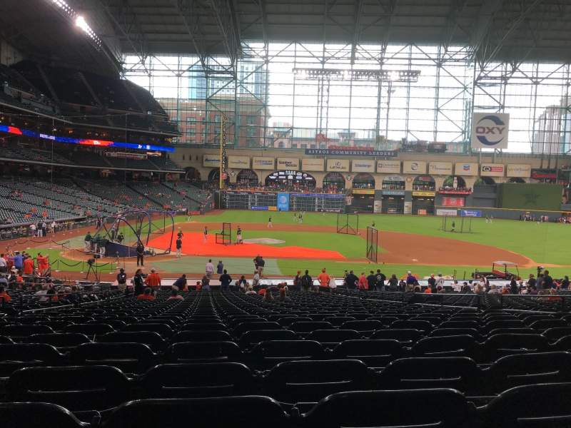 Minute Maid Park, section: 124, row: 35, seat: 6