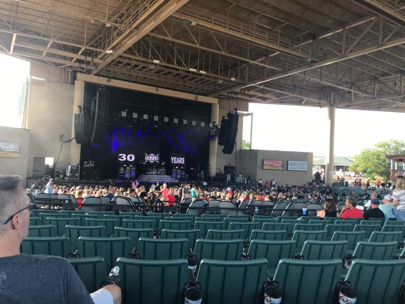 Ruoff Home Mortgage Music Center, section: E, row: N, seat: 17