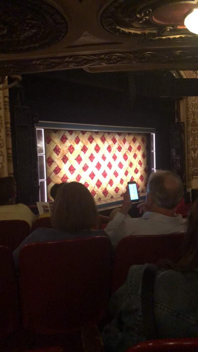 Seating view for Cadillac Palace Theater Section Dress Circle FL Row FF Seat 11