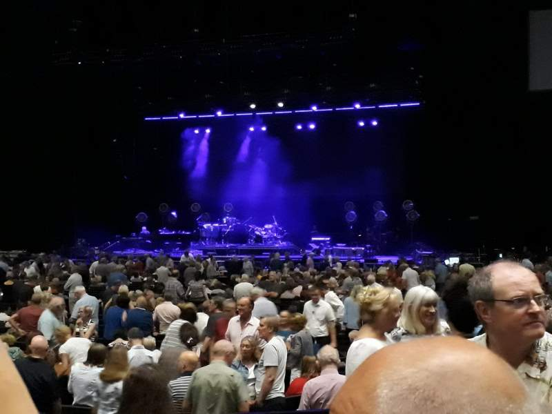 The SSE Hydro, section: 55, row: F, seat: 142