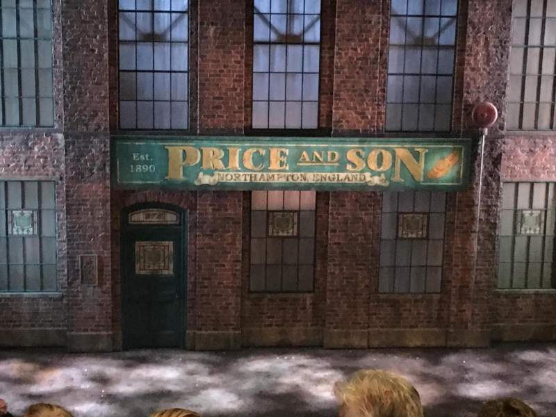 Al Hirschfeld Theatre, section: Mezz Center, row: J, seat: 113