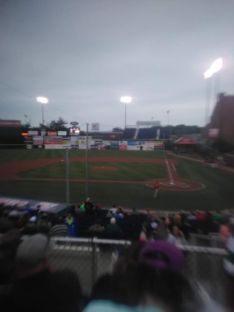 Seating view for Hadlock Field Section 209 Row H Seat 4