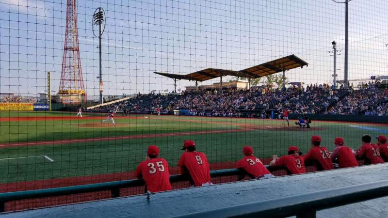 Seating view for MCU Park Section 11 Row E Seat 11