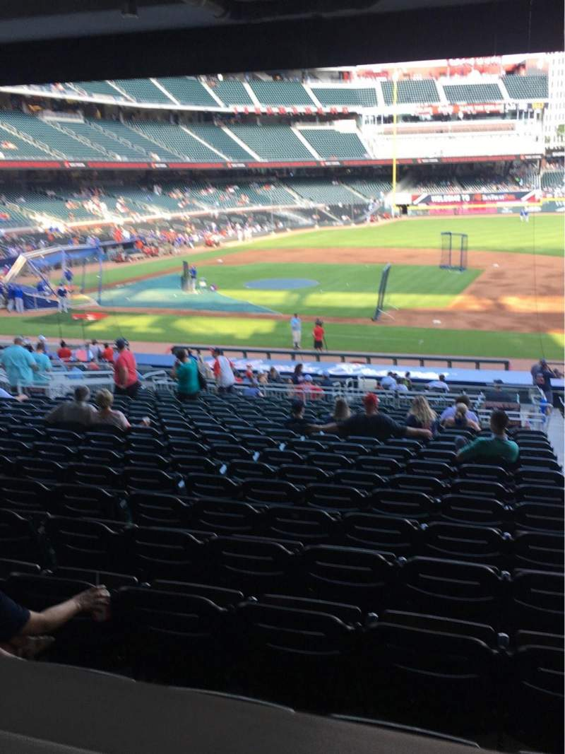 Seating view for SunTrust Park Section 118 Seat Wheelchair