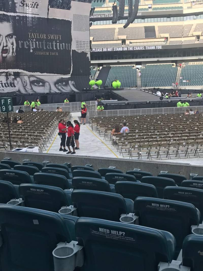 Lincoln Financial Field, section: 138, row: 7, seat: 6