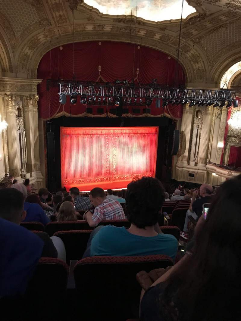 Seating view for Citizens Bank Opera House Section Mezzanine Row M Seat 5