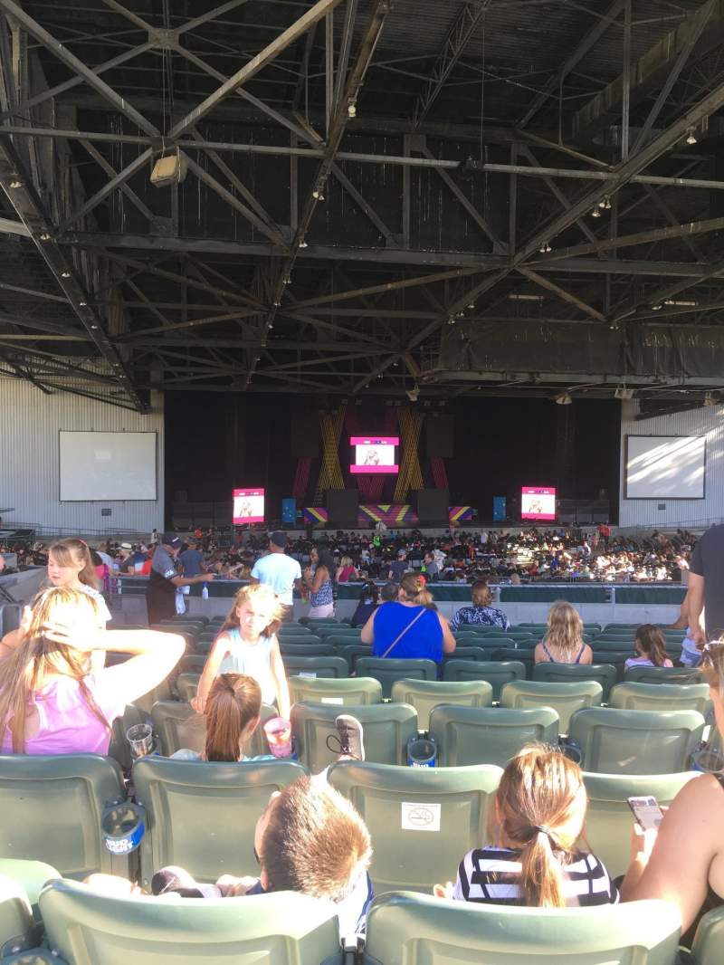 Concord Pavilion, section: 206, row: D, seat: 14