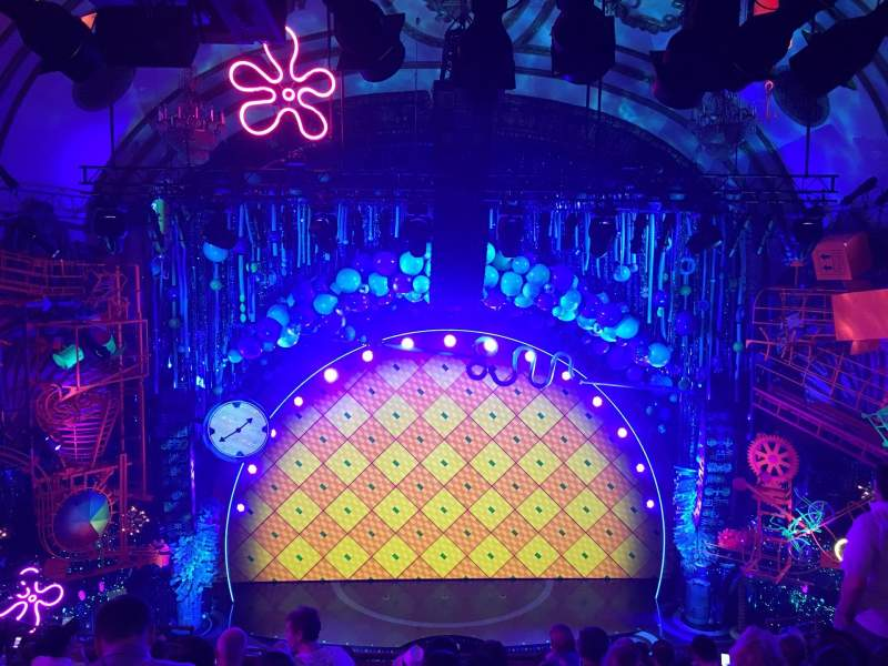 Palace Theatre (Broadway), section: Mezz, row: K, seat: 101