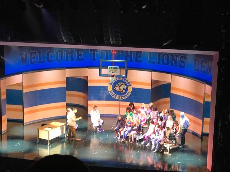 August Wilson Theatre, section: RMezz, row: P, seat: 2