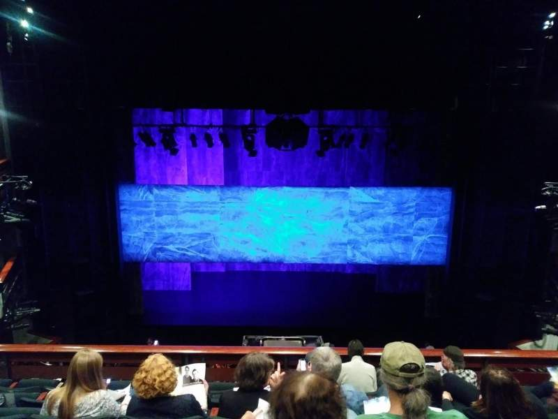 Seating view for The Roda Theatre at the Berkeley REP Section Mezzanine Row F Seat 215