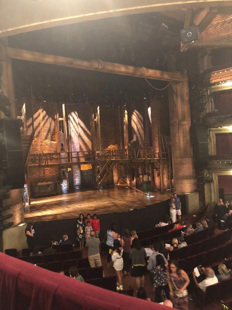CIBC Theatre, section: Dress Circle L, row: A, seat: 7
