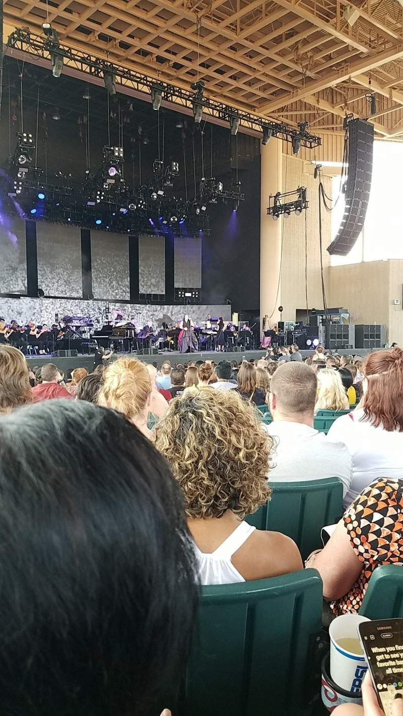 Ruoff Home Mortgage Music Center, section: A, row: Y, seat: 9