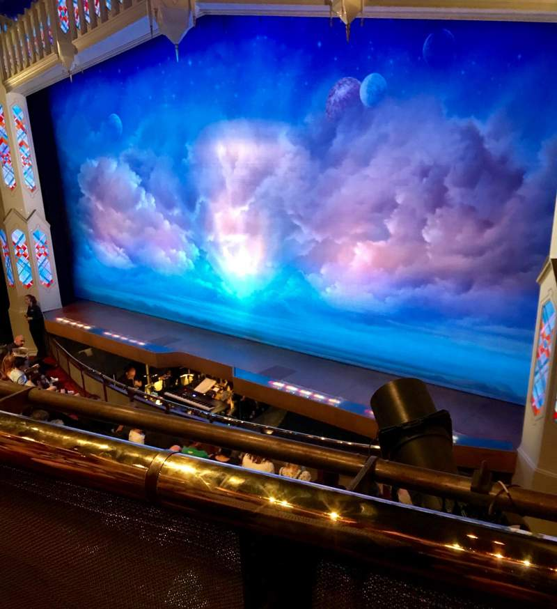 Seating View For Prince Of Wales Theatre Section Circle Row A Seat 9