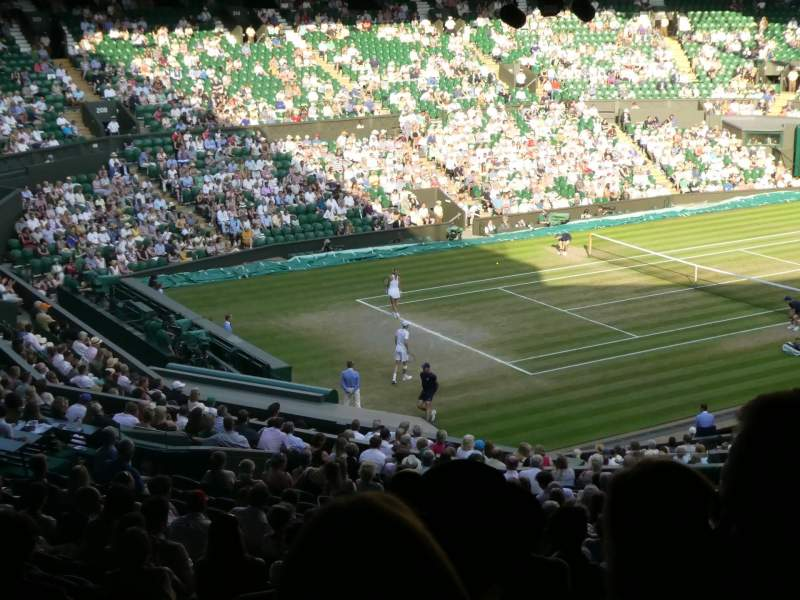 Seating view for Wimbledon, Centre Court Section Gangway 506 Row Z Seat 141