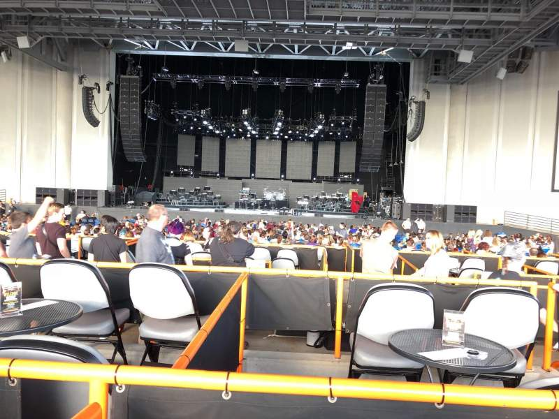 Seating view for PNC Music Pavilion Section Box 70