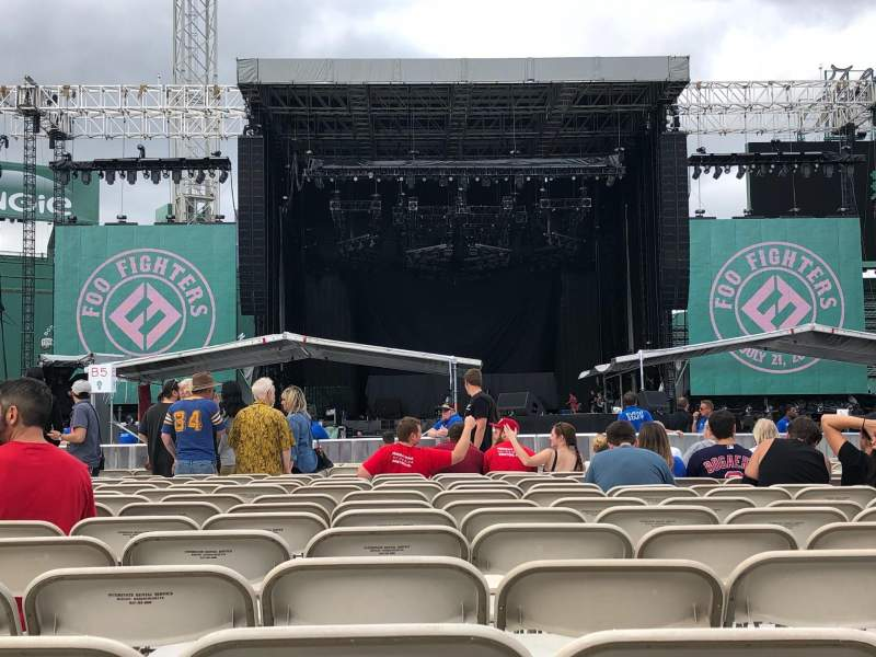 Fenway Park, section: C4, row: 13, seat: 18