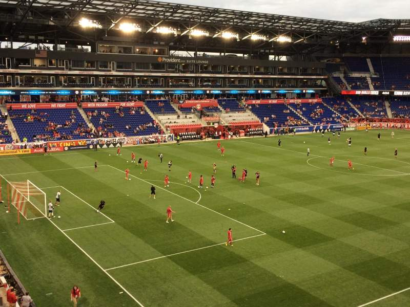 Seating view for Red Bull Arena (New Jersey) Section 230 Row 7 Seat 15