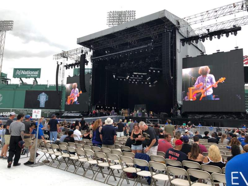 Seating view for Fenway Park Section B2 Seat 16